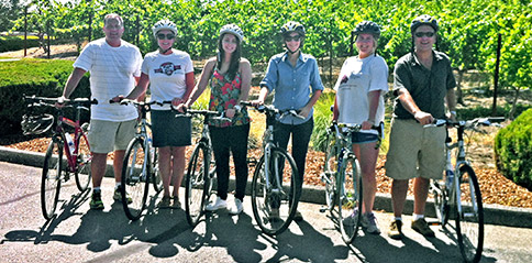 Explore Sonoma by bike and enjoy Sonoma wine tasting with Gears and Grapes guided bike tours of top Sonoma wineries.