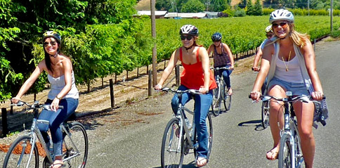 Explore Russian River Valley by bike and enjoy Russian River Valley wine tasting with Gears and Grapes guided bike tours of top Russian River Valley wineries.
